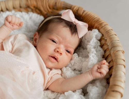 Newbornshooting mit Liya in Ulm